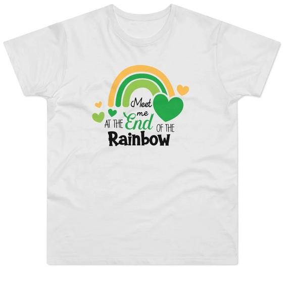 St. Patrick's Day Rainbow shirt